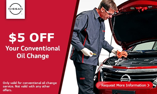 $5 off your conventional oil change