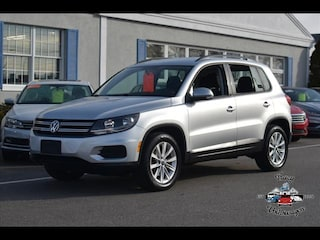 Certified Pre-Owned 2017 Volkswagen Tiguan 2.0T S 4motion SUV for sale in Hyannis, MA