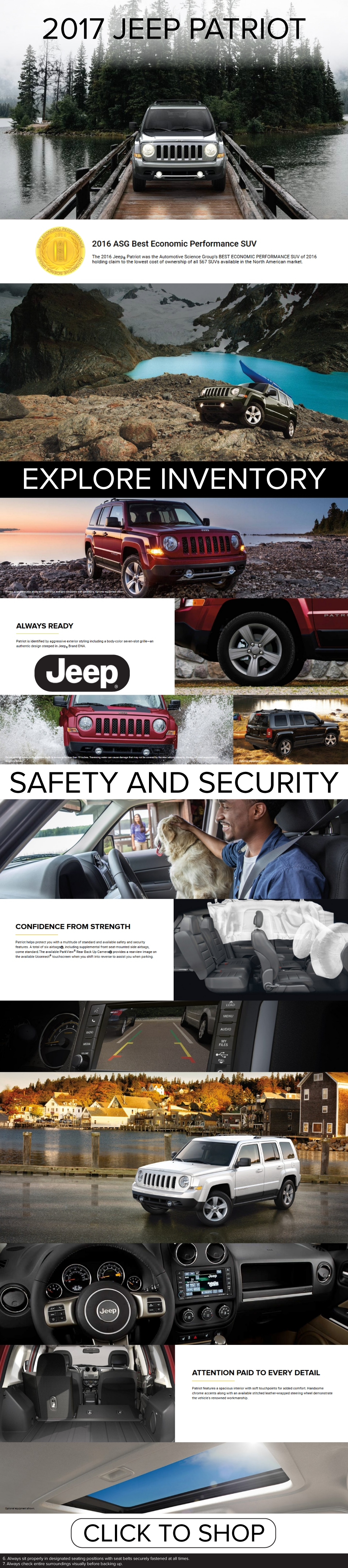 Test Drive the 2017 Jeep Patriot at Performance CJDR Columbus