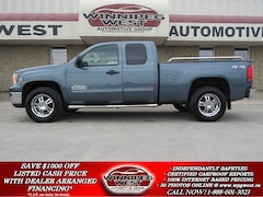 2011 GMC Sierra 1500 NEVADA EDITION V8 4X4, VERY CLEAN, HUGE VALUE! Truck Extended Cab