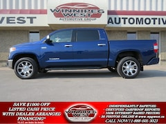 2014 Toyota Tundra LIMITED CREW MAX 4X4, LOADED, 1 OWNER, LOW KMS! Truck Crew Max