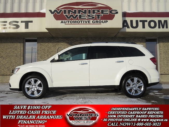 2012 Dodge Journey R/T AWD, 1-OWNER, LOW K'S, HEATED LEATHER & MORE! SUV
