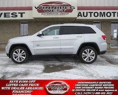 2011 Jeep Grand Cherokee 70th ANNIVERSARY EDITION, LEATHER, SUNROOF, NAV, L SUV