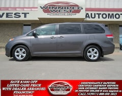 2012 Toyota Sienna LE 7 PASS, LOADED, LOCAL CLEAN MANITOBA TRADE Minivan