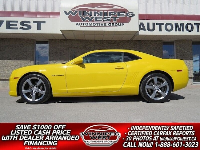 2011 Chevrolet Camaro 2SS 400HP 6.2L, HEATED LEATHER, RALLY YELLOW Coupe