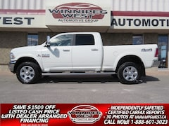 2018 Dodge Ram 2500 LARAMIE CUMMINS DIESEL CREW 4X4, LOADED, AS NEW Truck Crew Cab
