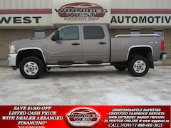 2012 Chevrolet Silverado 2500HD LT CREW 4X4, 6.6L DURAMAX DIESEL, LOADED, FLAWLESS Truck