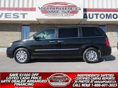 2015 Chrysler Town & Country LIMITED, HTD LEATHER, NAV, DVD, SUNROOF, LOCAL Minivan