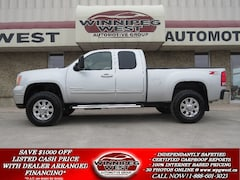2011 GMC Sierra 2500HD SLT Z71 4X4 DURAMAX, LIFT, LEATHER, ROOF, MINT! Truck Extended Cab
