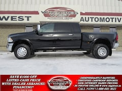 2012 Dodge 3500 LARAMIE MEGA DUALLY 4X4, CUMMINS, LOAD, FLAWLESS!! Truck Mega Cab