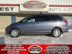 2008 Toyota Sienna LIMITED EDITION AWD, SUNROOF, LEATHER, DVD Minivan