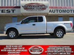 2016 Ford F-150 5.0L V8  4X4, EXTRA SHARP & EXTRA CLEAN, LOCAL Truck Super Cab