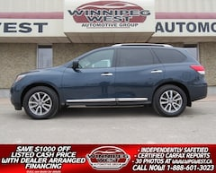 2016 Nissan Pathfinder SL AWD 7 PASS, 2 SUNROOF, HTD LEATHER, NAV, SHARP! SUV