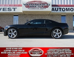 2012 Chevrolet Camaro 2SS, 426HP 6.2L 6SPD, LEATHER, ROOF, BLACK BEAUTY Coupe