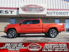 2017 Toyota Tacoma TRD OFF RD SPORT, SUNROOF, NAV, HTD SEAT, GORGEOUS Truck Double Cab