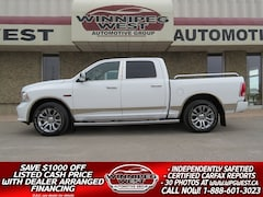2015 Ram 1500 LIMITED EDITION ECODIESEL 4X4, FULL LOAD, LOW KM! Truck Crew Cab