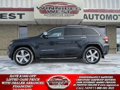 2014 Jeep Grand Cherokee OVERLAND DIESEL 4X4, EVERY OPTION, LOCAL TRADE!! SUV