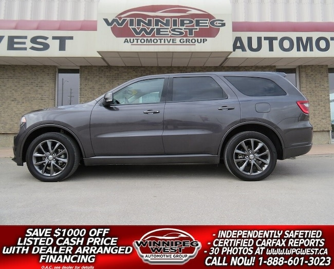 2018 Dodge Durango GT 7 PASS AWD, LEATHER, ROOF, NEW GEN SYSTEMS! SUV