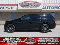 2018 Dodge Durango R/T HEMI V8 4X4 7 PASS, LOADED BLK BEAUTY SUV