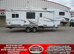 2009 FOREST RIVER SANDPIPER 295RGBS REAR KITCHEN, BIG SLIDES HIGH END FINISH, GREAT LAYOUT, SUPER CLEAN!!