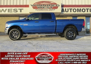 2016 Ram 2500 SLT CREW 4X4, RAM BOX, BLUETOOTH, NAV READY!