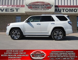 2015 Toyota 4Runner LIMITED 4X4 **7 PASS** ALL OPTIONS, LOW KMS, LOCAL