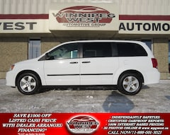 2014 Dodge Grand Caravan SE PLUS PKG, STOW-N-GO, REAR AIR/HEAT, ALLOYS, LOC Minivan