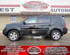 2011 Honda Pilot EX-L 8-PASS AWD, ROOF, LEATHER, ACCIDENT FREE! SUV