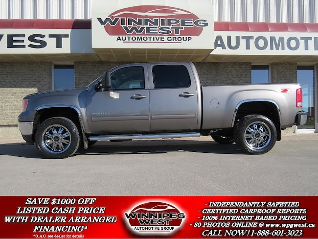 2014 GMC Sierra 2500hd SLT Z71 4X4 DURAMAX DIESEL, LOADED, 1-OWNER,CLEAN! Truck Crew Cab