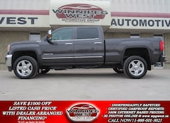 2015 GMC Sierra 2500HD SLT DURAMAX DIESEL 4X4, LEATHER, ROOF ,NAV, LOCAL! Truck Crew Cab