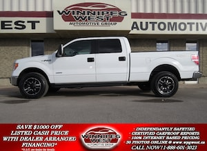 2013 Ford F-150 XLT CREW 4X4, ECOBOOST, LOADED, CLEAN & SHARP
