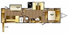 2012 CROSSROADS RV RESERVE SUNSET TRAIL ST32PB12 2 LIVING AREAS, LOTS OF OPTIONS & GREAT LAYOUT!