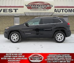 2016 Jeep Cherokee NORTH EDITION 4X4, LOADED & SHARP LOCAL SUV SUV