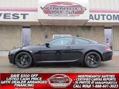 2006 BMW 6 Series M6 FLAWLESS 37KM, 500HP V10, LOADED LOCAL HISTORY Coupe