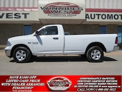 2014 Dodge Ram 1500 SXT 5.7L HEMI V8 4x4, 8 FT BOX, MANITOBA CLEAN! Truck Regular Cab