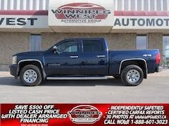 2011 Chevrolet Silverado 1500 CREW CAB V8 4X4, CLEAN, ACCIDENT-FREE, LOCAL TRK Truck Crew Cab