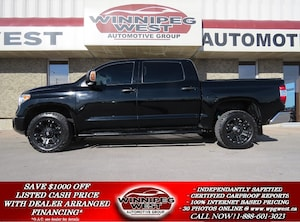 2014 Toyota Tundra CREW MAX 4X4, HEATED LEATHER, SUNROOF, LOW K'S!