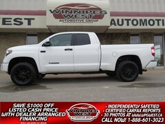 2017 Toyota Tundra TRD PRO 5.7L 4X4, LOADED, HTD LEATHER, LOCAL TRUCK Truck Crew Cab