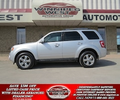 2010 Ford Escape LIMITED V6 4X4, LEATHER,ROOF, PARK ASSIST, LOCAL SUV