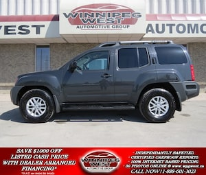 2014 Nissan Xterra OFF ROAD 4X4, BLUETOOTH, AUX AND USB, VERY CLEAN!