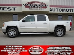 2010 GMC Sierra 1500 DIAMOND WHITE SLT CREW 4X4, MB TRUCK, LOADED! Truck Crew Cab