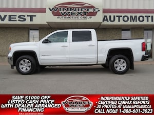 2014 GMC Sierra 1500 CREW SLE 5.3L V8 4X4, LOADED, EXCEPTIONALY CLEAN