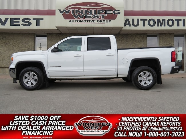 2014 GMC Sierra 1500 CREW SLE 5.3L V8 4X4, LOADED, EXCEPTIONALY CLEAN Truck Crew Cab