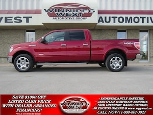 2013 Ford F-150 LARIAT CREW 4X4, LEATHER, ROOF, NAV, CAMERA! Truck