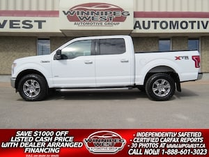2017 Ford F-150 XTR CREW 3.5L ECOBOOST 4X4, LOADED AND CLEAN!