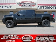 2009 GMC SIERRA 2500HD BLACK LIFTED SLT DURAMAX DIESEL 4X4, LOADED, SHARP Truck