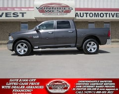 2015 Dodge Ram 1500 CREW ECODIESEL 4X4, LOAD, HTD SEAT, SUNROOF, LOCAL Truck Crew Cab