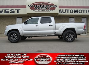 2013 Toyota Tacoma DOUBLE CAB V6 4X4, LOADED, CLEAN LOCAL TRADE