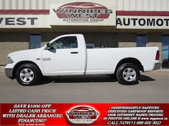 2014 Dodge Ram 1500 SXT 5.7L HEMI V8 4x4, 8 FT BOX, CLEAN! Truck Regular Cab