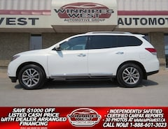 2014 Nissan Pathfinder SL AWD 7 PASS, PAN ROOF, HTD LEATHER, SHARP! SUV